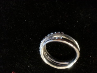 ring size 7 silver designed