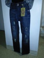 Ladies Trendy VIGOSS Blue Jeans