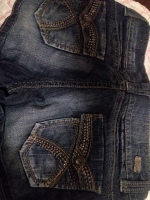 Blue Jeans shorts by 1st kiss