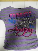 LiL Girls Top...OMG SWAG AMAZING-.....