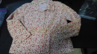 Lil Girls Button Up Top  size 4T