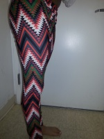 Leggings w color and pop