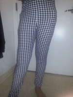 Leggings Houndstooth Style