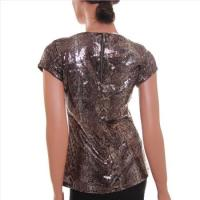INC International Concepts Women's Shirt, Size S , Color Bronze