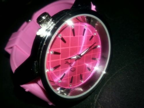 Trendy Pink Ladies watch