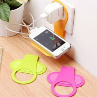 convenient-mobile-foldable-designed-cell-phone-holder-wall-charger-hanger-charging-rack-shelf-