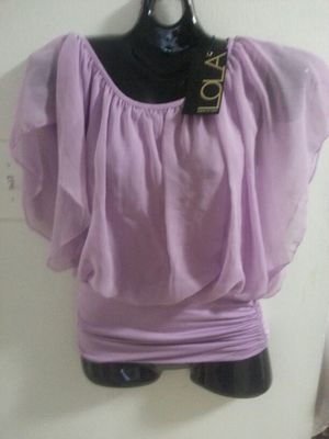 Lavender Blouse By  LOLA