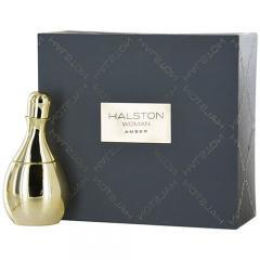 HALSTON WOMAN AMBER by Halston EAU DE PARFUM SPRAY 3.4 OZ