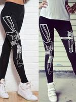 Fashion Pants , Printed Cotton Leggings
