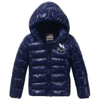 Children Fashion Outerwears Hooded Jacket