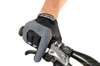 RockBros Non-Slip Thermal Fleece Bike Bicycle Gloves-Green-Sm