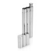 2oz Stainless Steel Flask with 2 Cigar Tube MSRP $29.99