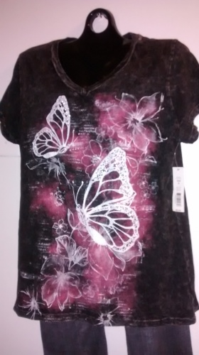 Ladies Designer Tee Top