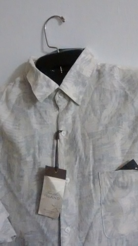 Collared Button-Up , Burn-Notice Style