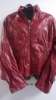Faux Leather jacket, Burgundy or red  wine
