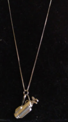 GolfBag Necklace