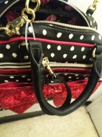 Trendy Betsy Johnson Satchel/crossbody bag