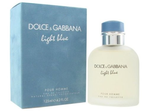 Dolce and gabbana Light blue men's cologne EDT 4.2OZ HOT!!!  Brand new