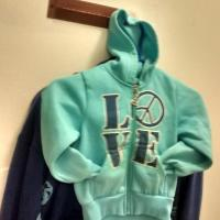 Peace n Love Hoodie for kids