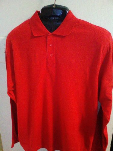 Red Polo Shirt by B&C Safran LSL.