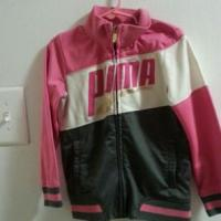 Lil Girls Warm-up Jacket by Puma