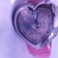 Ladies pink chronotech watch