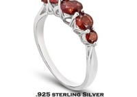 Gemstone Ring Sterling Silver