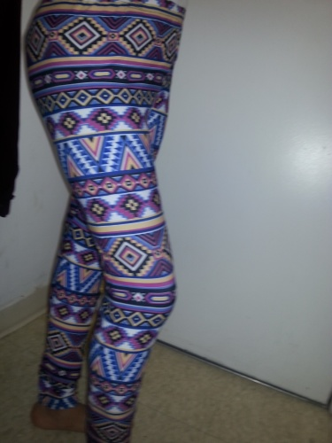 Leggings multi colored designs