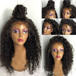 Brazilian Virign Full Lace Human Hair Wig-black-16
