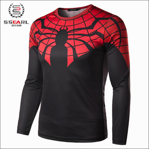 Men's Long SleeveSuper Hero Top