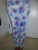 Leggings White Floral