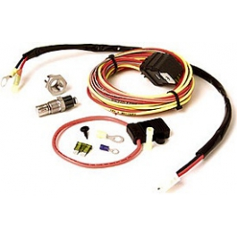 Be Cool Electric Radiator Cooling Fan Wiring Harness Kit  75021 Corvette Radiator Wiring Harness on