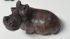 Carved STONE Hippo