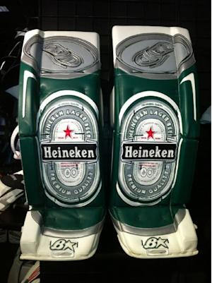 beer league goalie pads