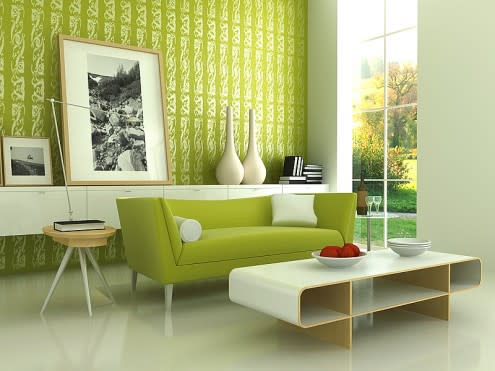 ��� ���� ������ ������ ���� 2014 Green living rooms 2015 jinka-495x371.jpg