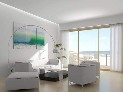 ��� ���� ������ ������ ���� 2014 Green living rooms 2015 beach_house_interior
