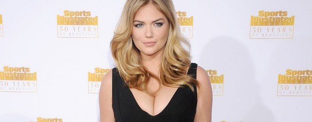 Kate Upton at the 50th anniversary celebration of Sports Illustrated Swimsuit Issue in January (Gregg DeGuire/WireImage)