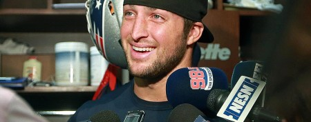 A bidding war expected for Tim Tebow. (Getty Images)