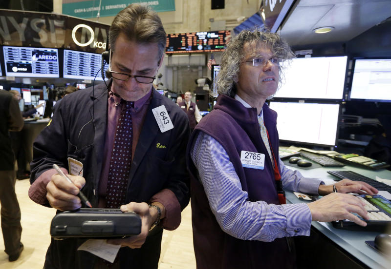 Stocks drop; Biotech takes another plunge