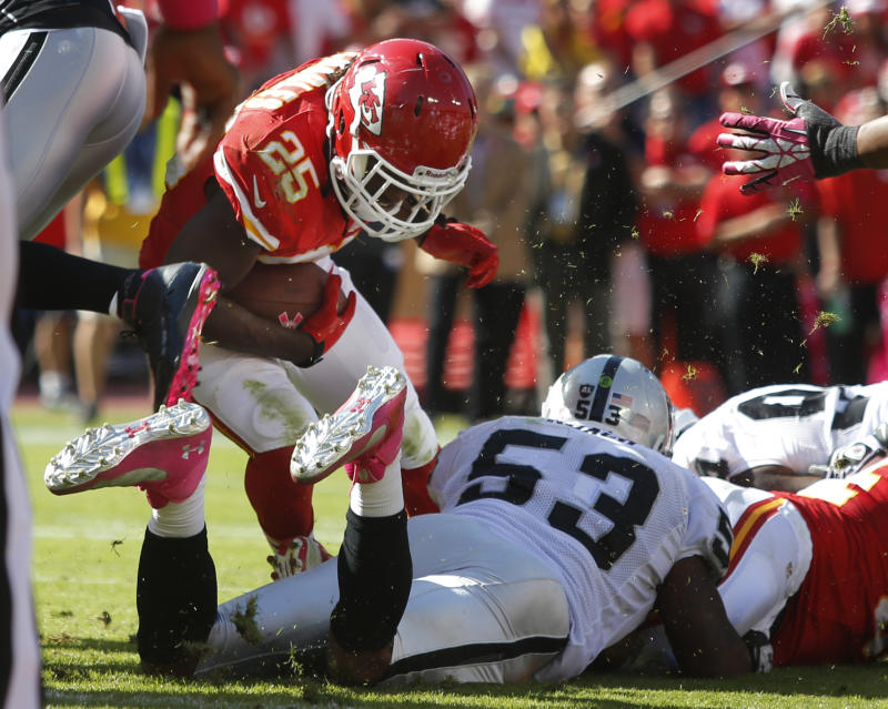 Undefeated ranks down to 2 AFC West teams
