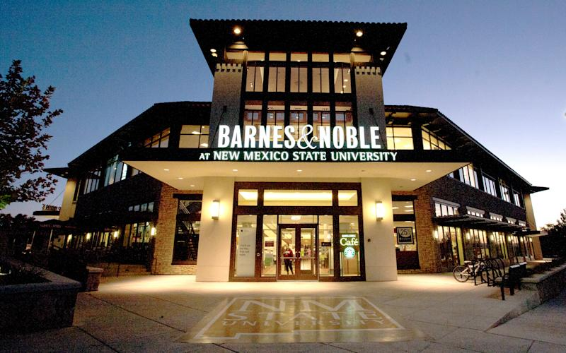 Barnes & Noble plunges after bad holiday