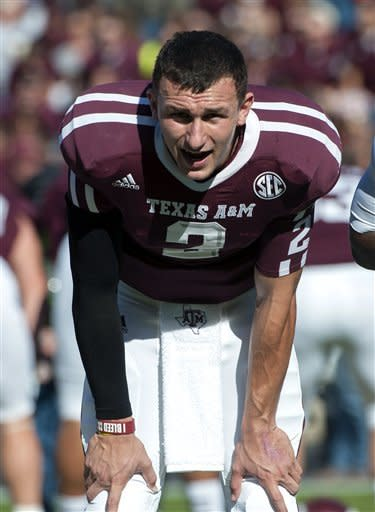 Manziel leads Aggies over Bearkats 47-28