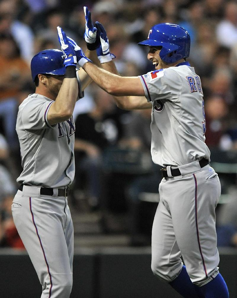 Rangers hit 5 homers in victory over White Sox