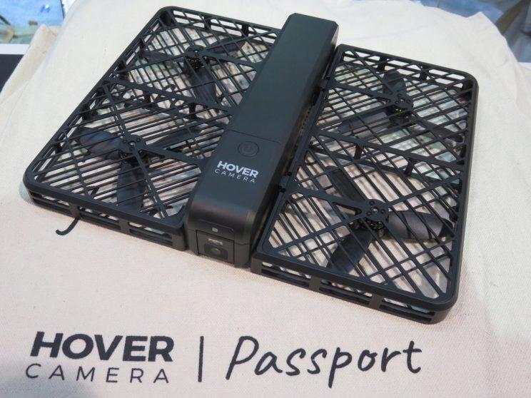 The Hover Camera Passport at CES 2017