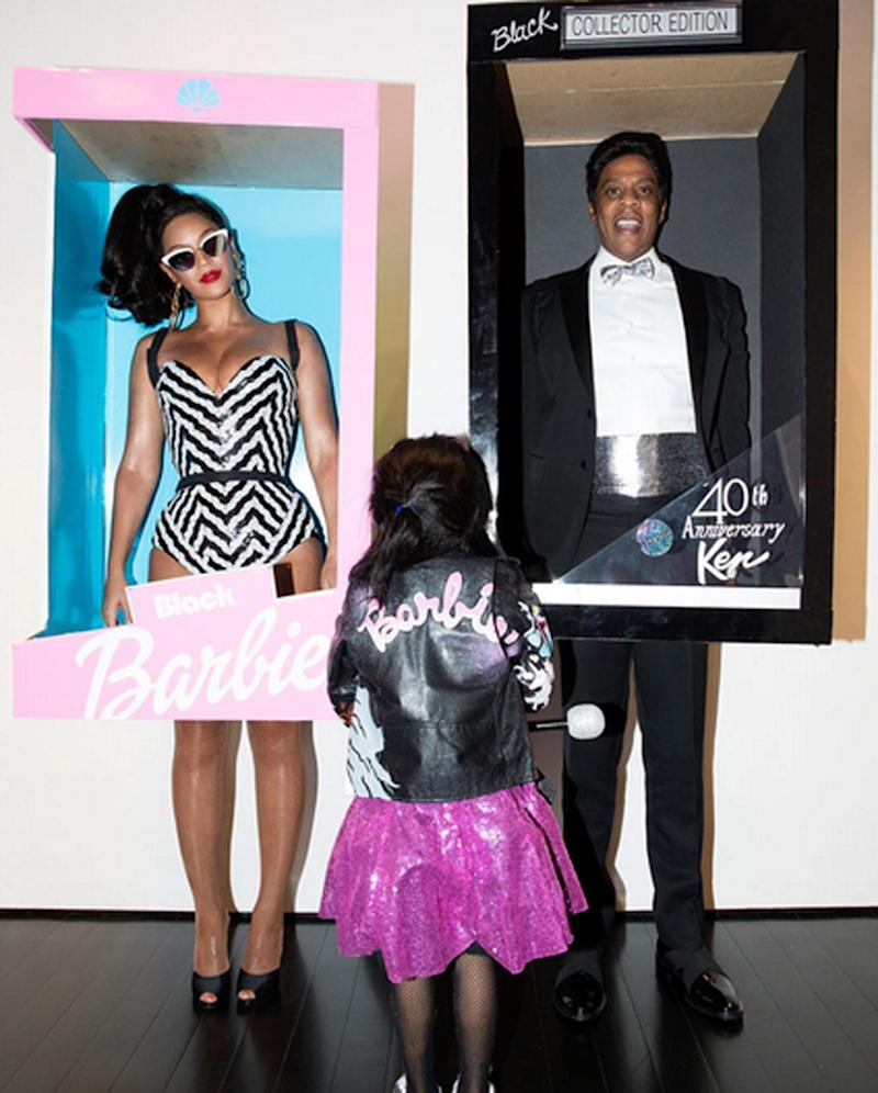 Beyoncé and Blue Ivy Wore Some Cool Kicks For Halloween