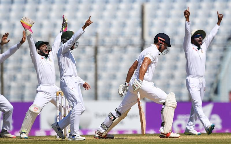 England win dramatic first Test in Bangladesh