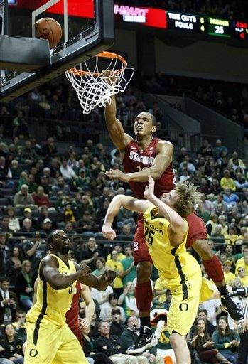 Joseph's 30 carry Oregon past Stanford 78-67