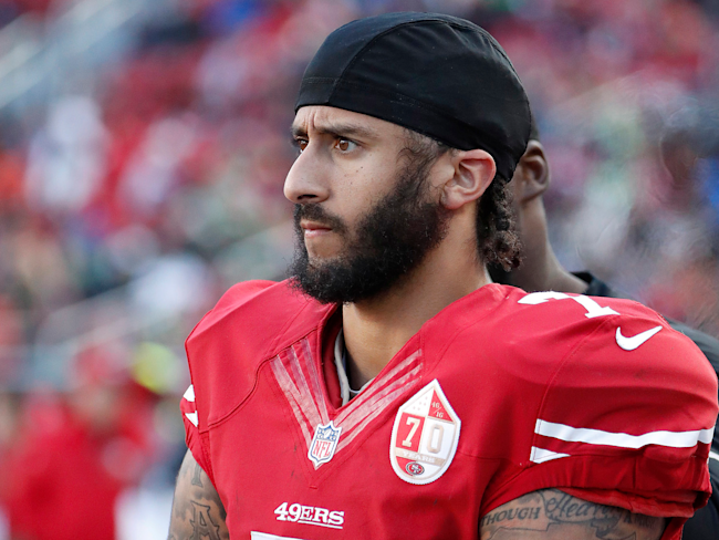Trump Takes Another Jab at Ex-49ers Quarterback Colin Kaepernick