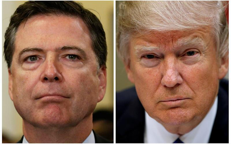 Trump faces deepest crisis of presidency as Comey memo lands