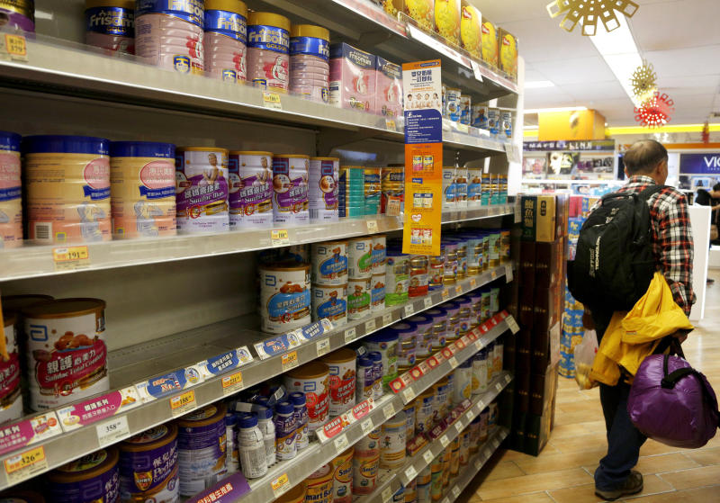 HK clamps down on cross-border baby formula trade